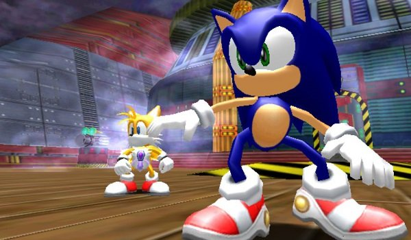 Sonic Adventures DX Director's Cut Sonic Tails