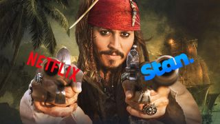 Australian piracy is down