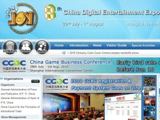 ChinaJoy is China s biggest videogame trade event