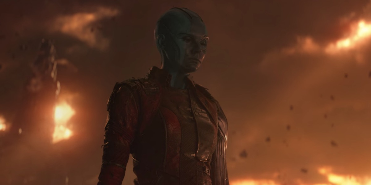 Nebula after The Snap