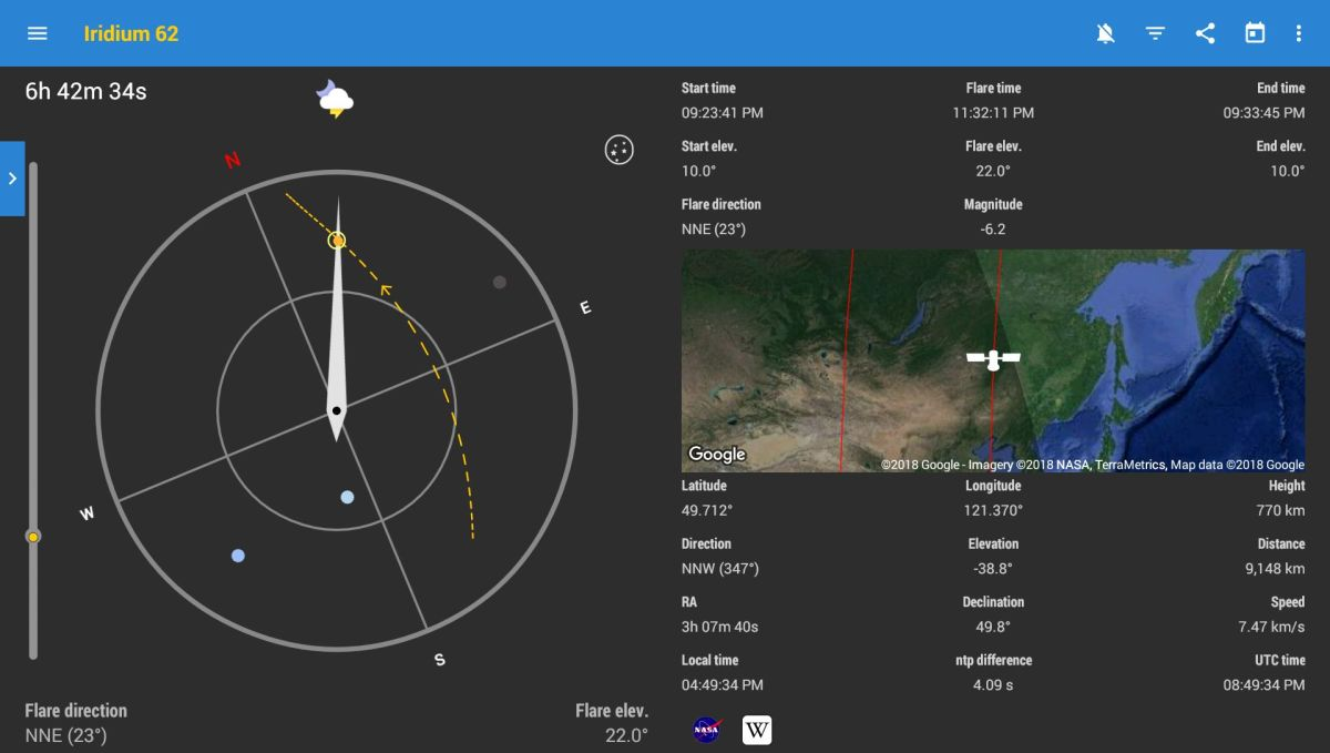 The Best Mobile Apps for Spotting and Identifying Orbiting