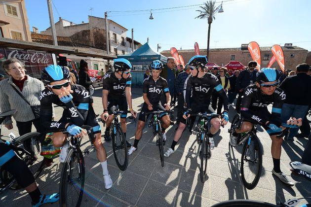 Team Sky, Trofeo Campos, Majorca, February 2013
