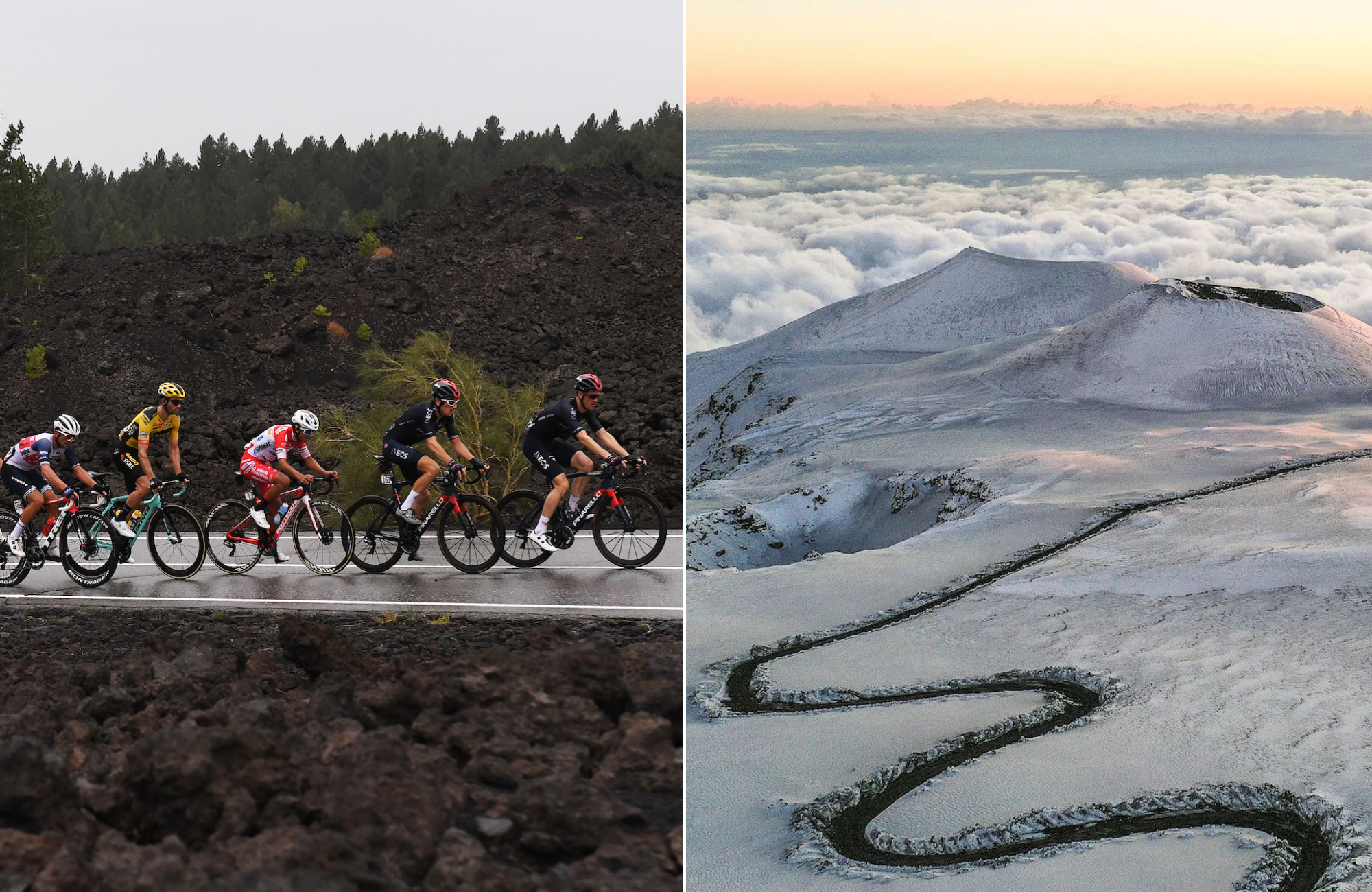 Giro d'Italia could 'lick the craters' of Mount Etna with higher 2,860m summit finish atop volcano - Cycling Weekly