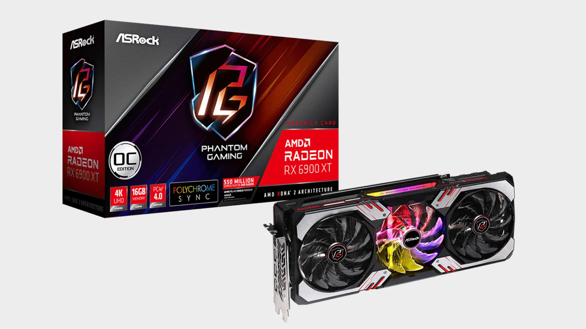 ASRock Radeon RX 6900 XT Phantom Gaming D