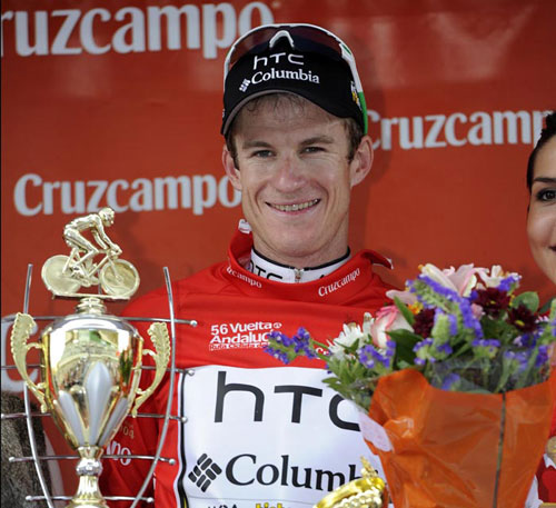 Michael Rogers takes overall lead, Tour of Andalusia 2010, stage four ITT