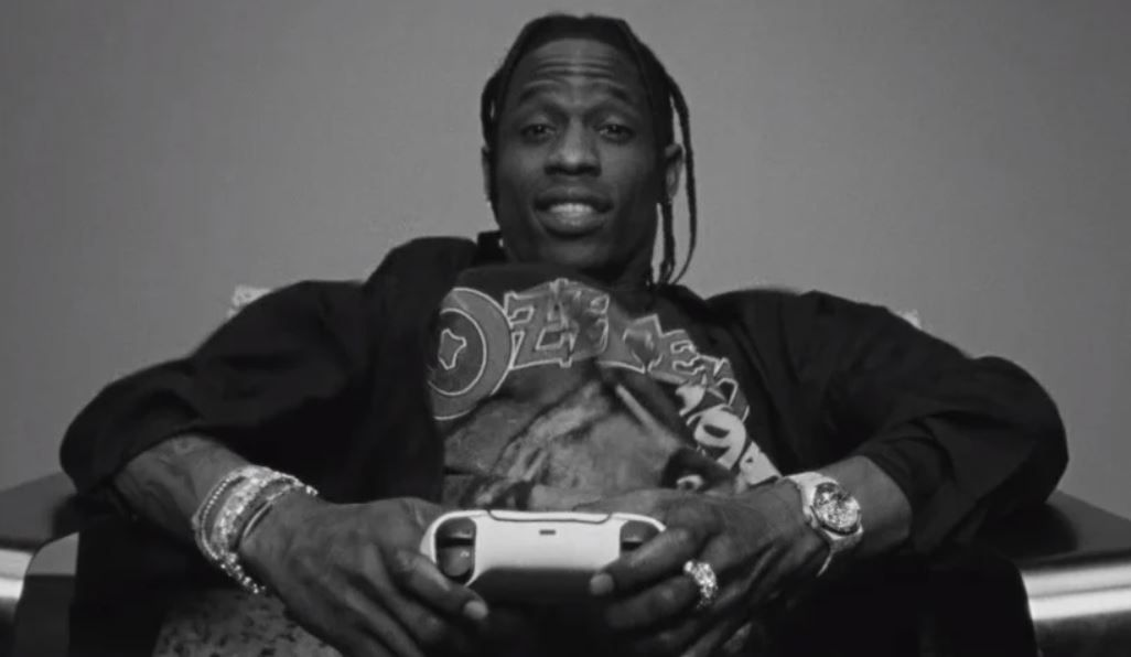"Travis Scott PS5 video kicks off ""strategic creative partnership"""