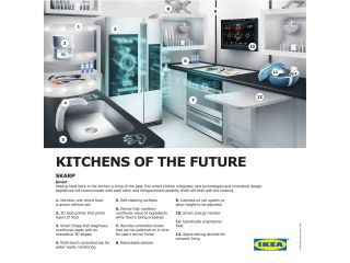 The Ikea kitchen of the future - but will it flat-pack?