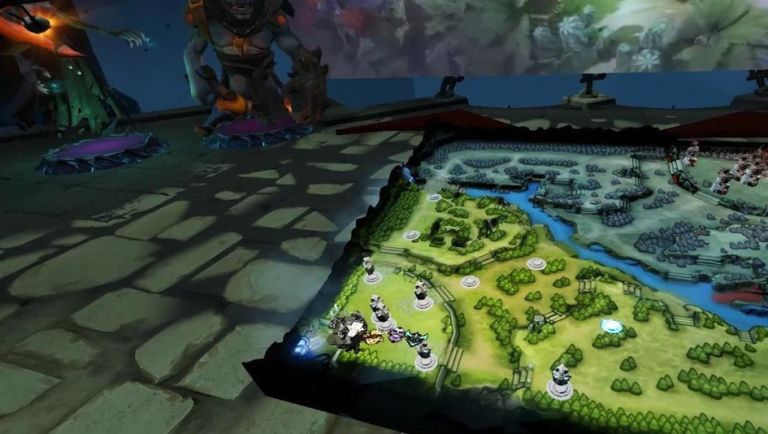 Valve is teasing a VR spectator mode for DOTA 2 and it looks amazing