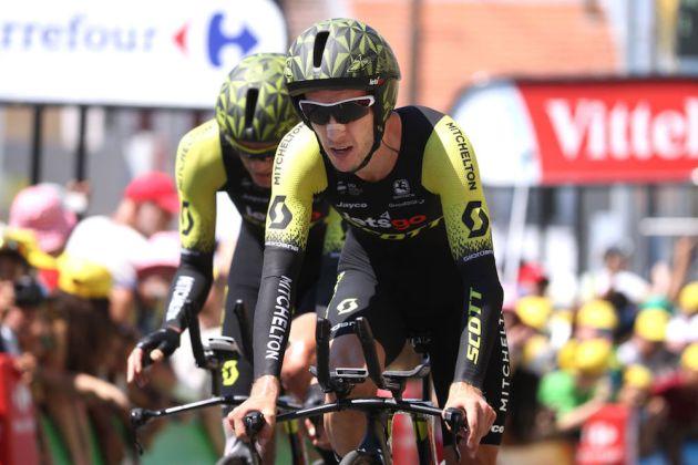 Mitchelton Scott Pleased With Tour De France Team Time