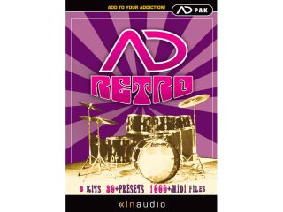 Retro expands the Addictive Drums library with over 1 300 midi loops
