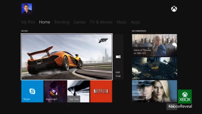 Xbox One embraces future with 3D and 4K, still needs internet to work
