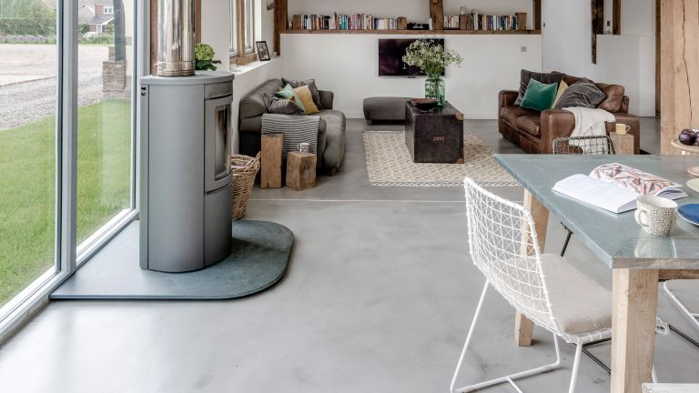Concrete flooring: a buyer\'s guide | Real Homes