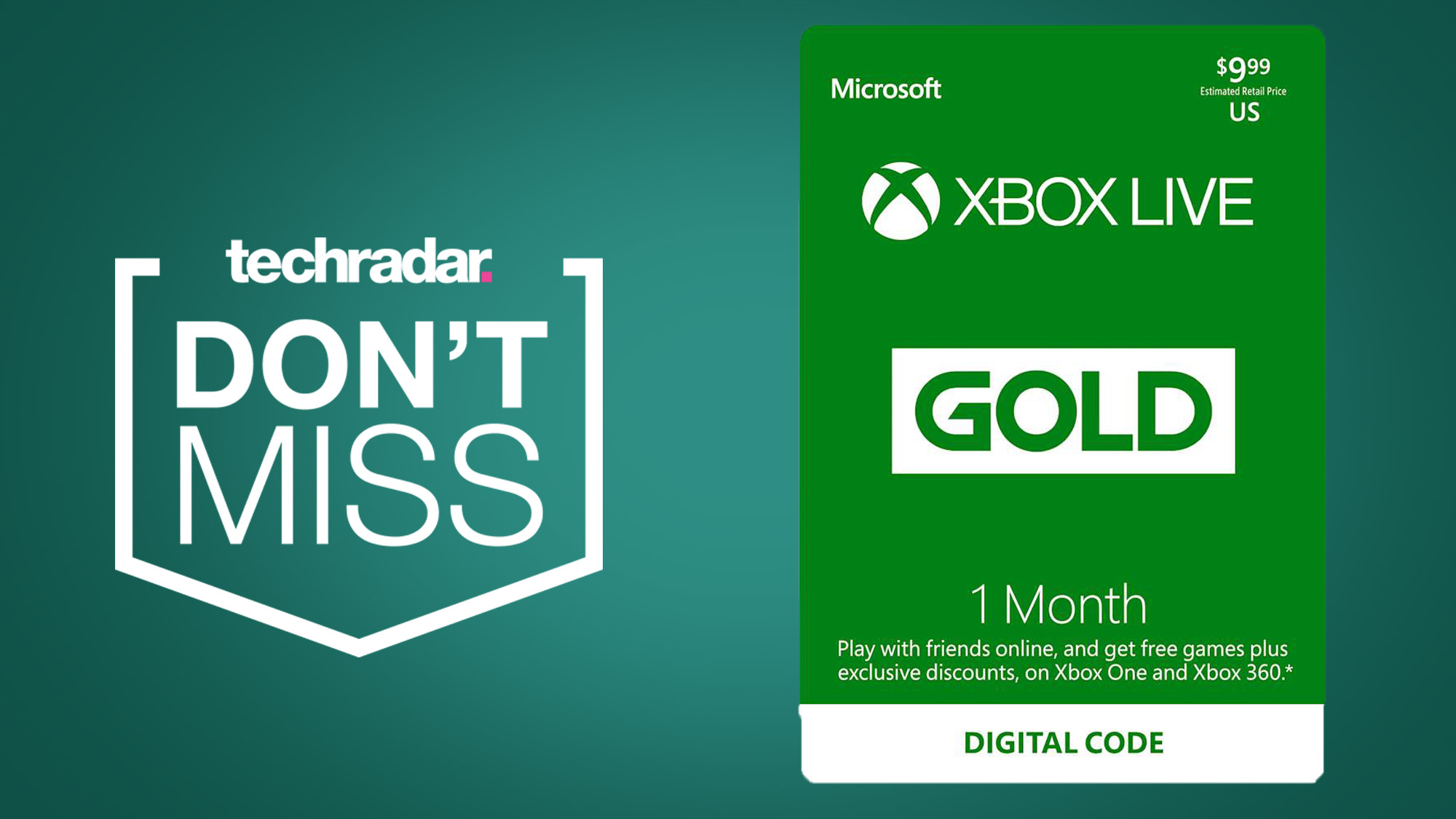 Get Free Xbox Gold Codes xbox live gold for $1 will be your easiest cyber monday