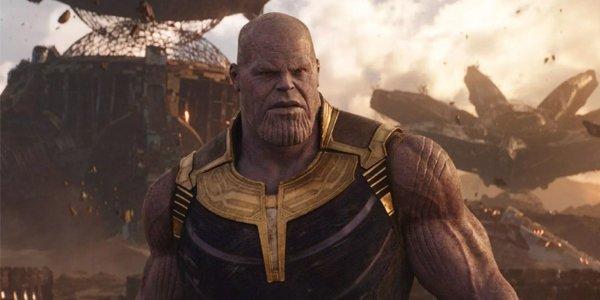Thanos on Titan Josh Brolin Avengers Infinity War