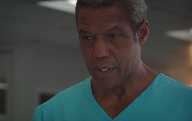 Holby City Ric Griffin (Hugh Quarshie)