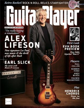 The cover of Guitar Player's November 2021 issue