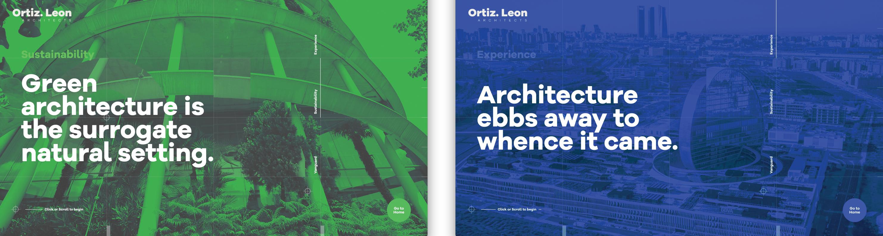 CSS tricks: Ortiz Leon Architects  website CSS