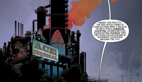 Ace Chemicals DC Comics
