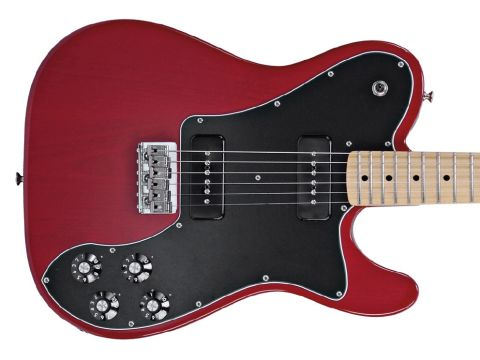 Tele meets SG Special. Very cool.