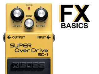 Boss's SD-1 is a typical overdrive pedal