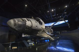 Space Shuttle Atlantis Exhibit KSC