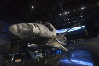 Space Shuttle Atlantis Exhibit KSC