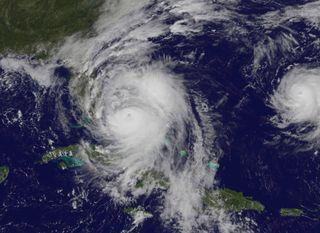 Hurricane Matthew from Space, Oct. 6, 2016
