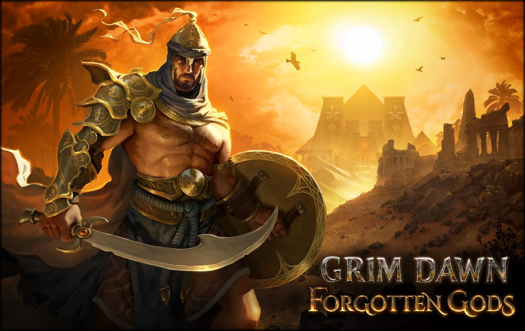 A new Grim Dawn expansion called Forgotten Gods is coming