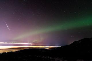 2013 Geminid Meteor Over Alaska