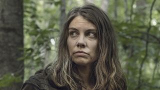 maggie talking to elijah on the walking dead season 11