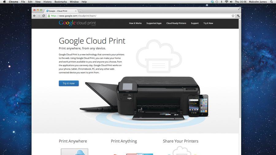 How to use Google Cloud Print | TechRadar