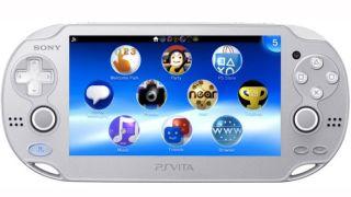 PS Vita Ice Silver