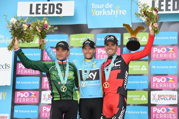 Podium, Tour de Yorkshire stage three