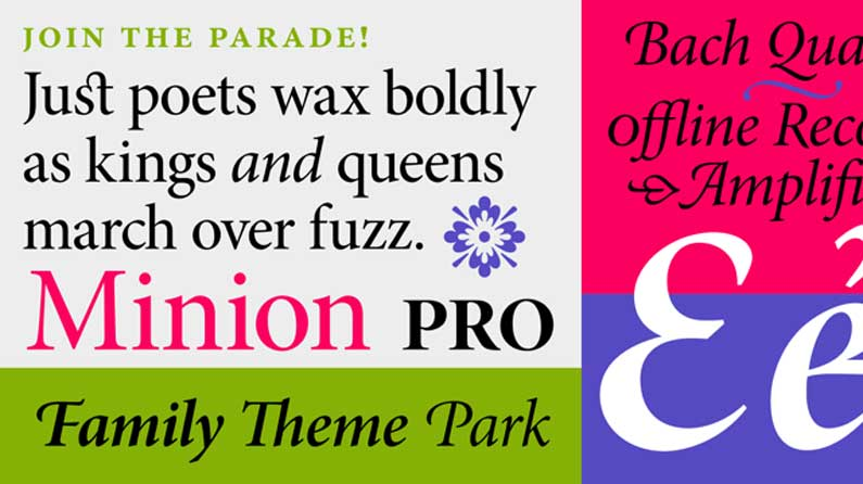 20 versatile font families to supercharge your typography