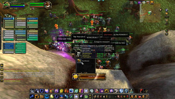 World of Warcraft Pandaren reaches level 90 without leaving starting