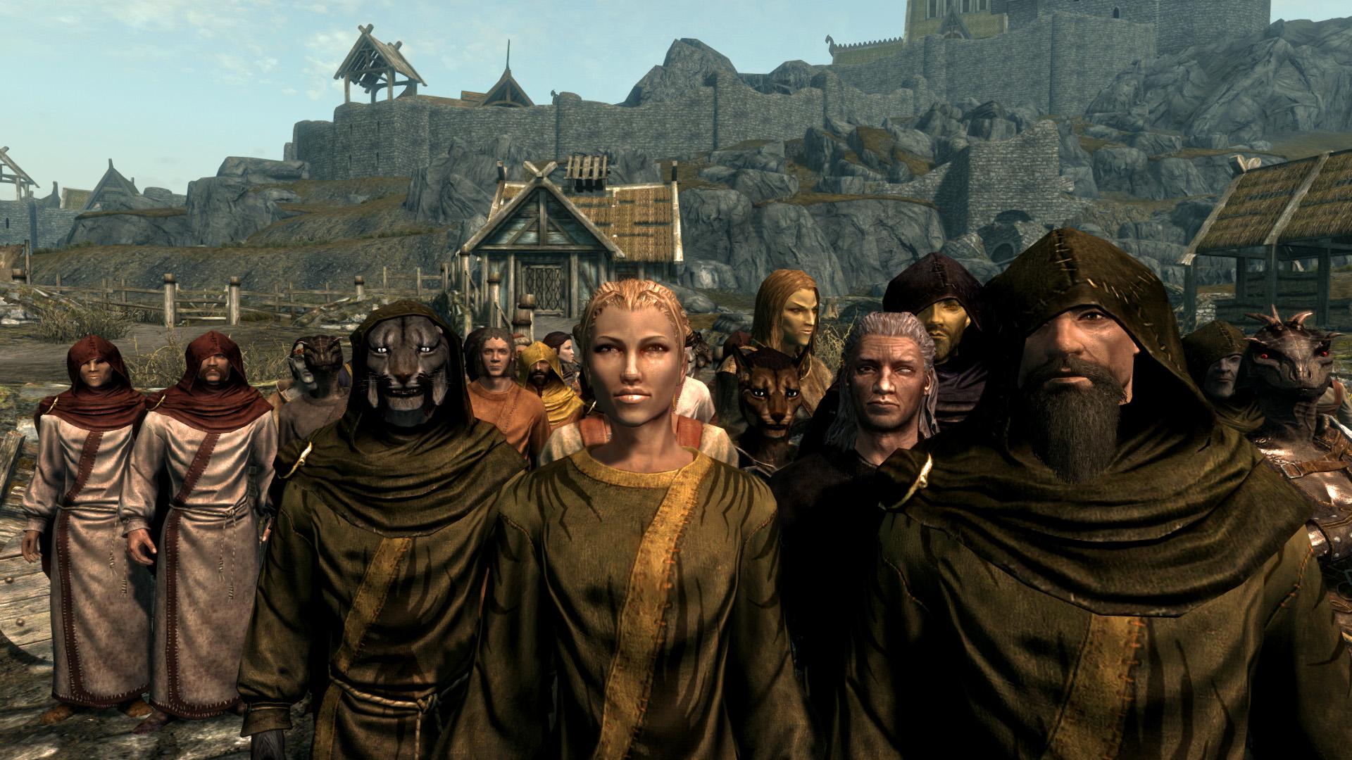 the best skyrim mods: travelers of skryim