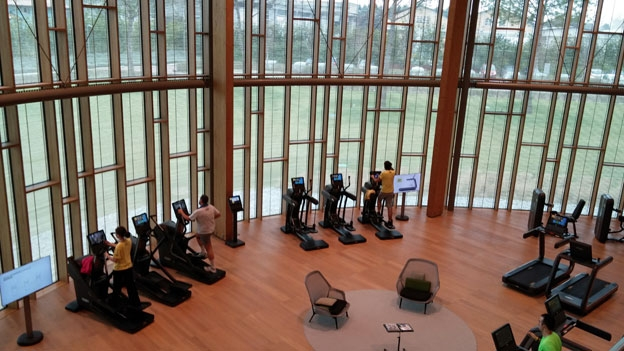 Step inside the gym of the future t