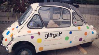 GiffGaff breaks its SIM only ranks sells phones on finance