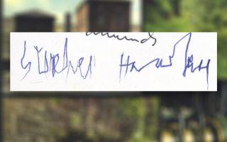 Stephen Hawking signature
