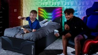 Man, I wish I had a gamer bed growing up