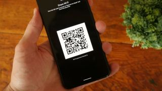 Share Wi-Fi screen on Android