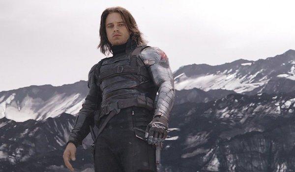 Sebastian Stan as Winter Soldier in Captain America: Civil War