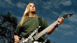 Jeff Hanneman in 2001