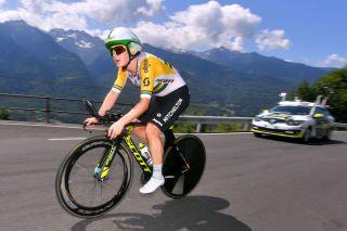 Mitchelton-Scott's Grace Brown on stage 6 of the 2019 Giro Rosa