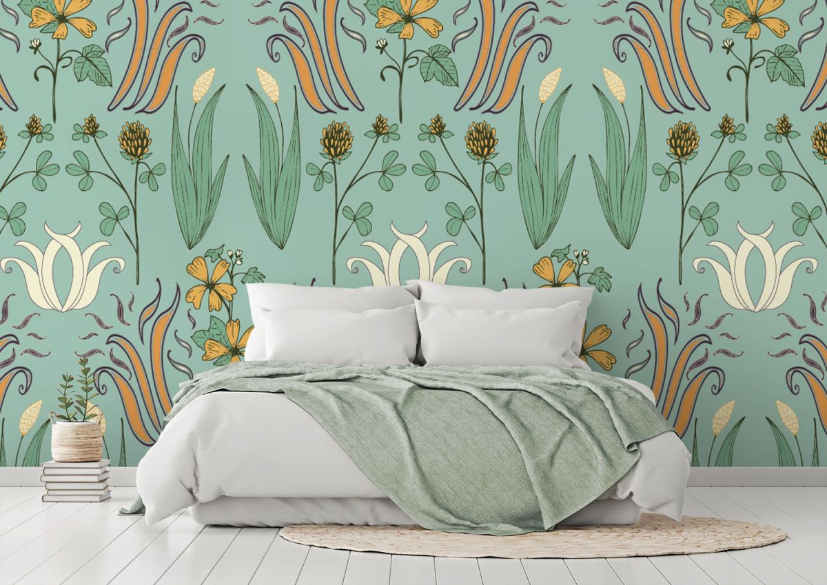 How to wallpaper a statement wall