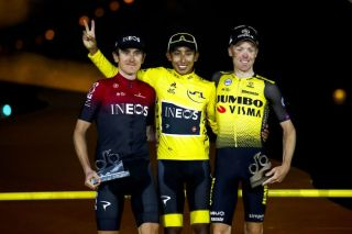 Egan Bernal (Team Ineos) wins the 2019 Tour de France