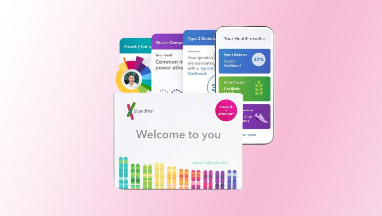 best DNA testing kit: 23andMe