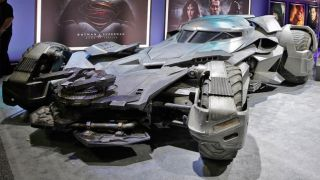 Batmobile revealed
