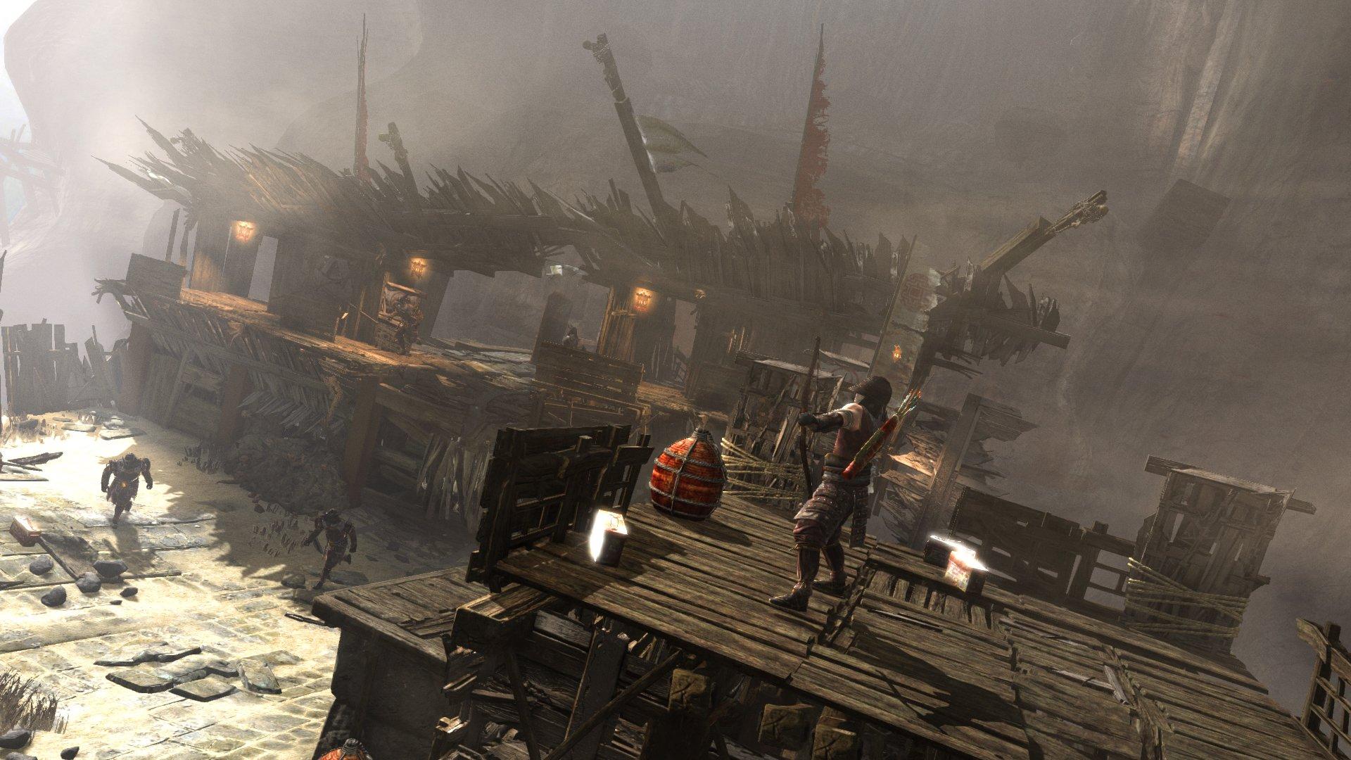 Tomb Raider Screenshots Explore Temple, Fight Samurai #25783