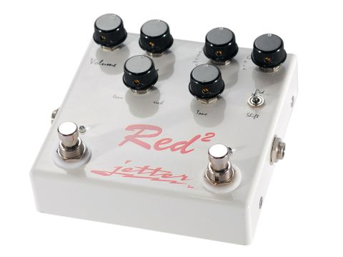 The Red Square combines two overdrive pedals in a single unit.
